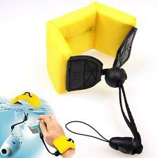 JJC Yellow Camera Floating Foam Wrist Arm Hand Strap Waterproof Diving
