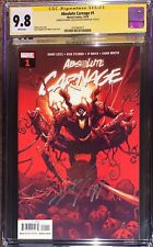 Absolute Carnage 1 CGC SS 9.8 Signed Donny Cates, Artgerm, & Ryan Stegman