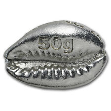 50 gram Silver Money Cowrie - Metal Concentrators - SKU #151651