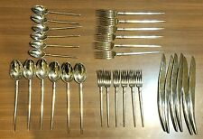 Vintage Objets Pointus Cutlery by Philippe Starck Sasaki Service For 6 Flatware