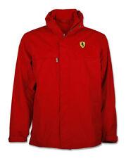 Ferrari Rouge 1 en 3-Polaire Doublé Veste Imperméable-Small-Vettel-Kimi - RRP £ 189