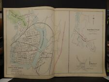 Conneticut, New Haven County, City of New Haven Oxford Map Dbl Pg 1893 R4#85