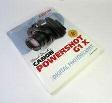 David Busch's Canon PowerShot G1 X Guide to Digital Photography VG Condition!