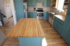 "Forever Joint Rock Hard Maple Butcher Block Top 1-1/2""x36""x48"" Wood Table Top"