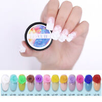 LILYCUTE 5ml 3D Carved Patterns Gel Soak Off UV Gel Nail Art Modelling