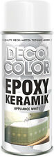 DECOCOLOR EPOXY BATH SHOWER SINK APPLIANCE WHITE ENAMEL SPRAY PAINT REFURBISHING