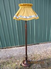 -VINTAGE STANDARD LAMP WITH SHADE - PUO MOSS VALE SOUTHERN HIGHLANDS - VGC~