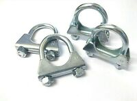 Exhaust Clamp. U Bolt. 32mm. Universal. TV Aerial. Pack of 4. *Top Quality!