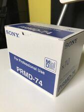 10 MiniDisc Set Sony Recordable MD PRMD-74 74min plus BOX