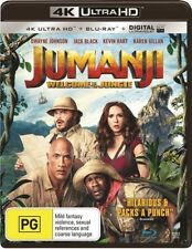 Jumanji - Welcome To The Jungle 4K (Blu-ray, 2-Disc Set) Brand New and Sealed