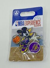 Disney Mickey Mouse NBA Experience Collector Pin - Los Angeles Lakers