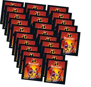 Panini - Die Unglaublichen 2 - Serie 2 - Sammelsticker - 125 Sticker - 25 Tüten