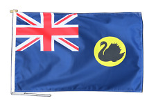 More details for western australia flag with rope and toggle - various sizes
