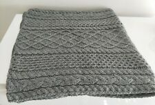 forever new knitted grey scarf