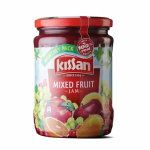 Kissan Mixed Fruit Jam Jar Perfect Partner 500/700g With Free Shipping Worldwide