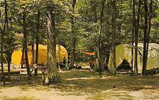 Petersburg Pennsylvania~Church of Brethren Camp Blue Diamond~Hogan Tents~1971 PC