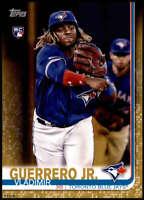 Vladimir Guerrero Jr. 2019 Topps Update 5x7 Gold #US1 RC /10 Blue Jays