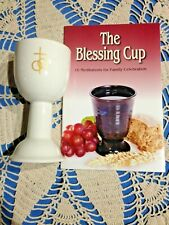 """NEW """"MARRIAGE BLESSING CUP"""" 6""""H, & Book Great VERY UNIQUE GIFT!"""