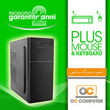 PC COMPUTER DESKTOP INTEL QUAD CORE/HD 250GB/RAM 16GB/ASSEMBLATO COMPLETO FISSO