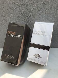 HERMÈS Paris VOYAGE & TERRE D'HERMES Deodorant Stick 2 X 75 ml NEU OVP