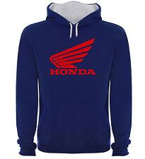 Sudadera Capucha Bicolor Honda Motociletas Motor Hombre tallas colores a031