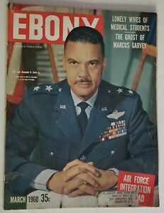 1960 Ebony Magazine Major General Davis Jr Oscar Robertson Della Reese