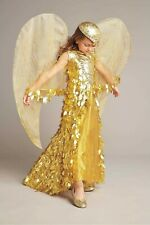 Gold Phoenix Costume Fashion Dress Child Girls SIZE 8 (M)