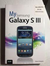 My...: My Samsung Galaxy S III by Steve Schwartz (2012, Paperback, Revised)