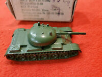 Vintage USSR military toy Tank T-54 metal tank original box