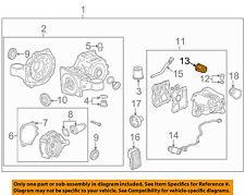GM OEM Axle Differential-Rear-Filter 20986573