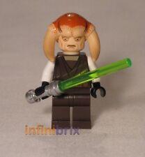 Lego Saesee Tiin Jedi Starfighter conjuntos de 9498 + 7931 T-6 Jedi Shuttle sw308