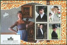 MUSTIQUE  2014 DOWNTOWN ABBEY  SHEET II MINT NH
