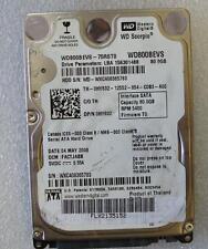Defectuosos Western Digital wd800bevs-75rst0 0hy632