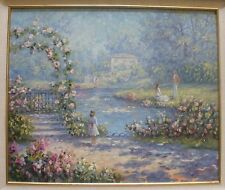 """ORIGINAL OIL PAINTING by Rene Biegler 'The Observer' 20"""" x 24'' IMPRESSIONIST"""