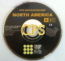 OEM Toyota Prius Sienna Tundra Navigation DVD # U91 Rel © 9/2009 Map Update 2010
