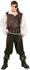 Caribbean Pirate Deluxe Men's Adult Costume - Standard