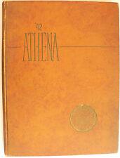 1942 yearbook The Athena Ohio University Athens Ohio college history nostagia