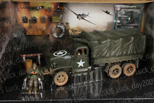 Forces of Valor Diecast WWII US 2.5 TON CARGO TRUCK - NORMANDY 1944 Set 1/32