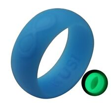Silicone Wedding Ring Band for Men - Flexible Rubber Rings Bands - by KUSI