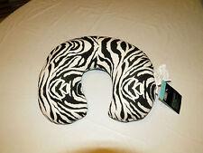 Living Solutions Microbead Pillow travel home WIC216404 zebra stripes NEW