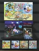 China Hong Kong 2005 Opening of Disneyland Disney Cartoon Micky stamp set