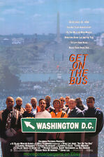 GET ON THE BUS MOVIE POSTER  Original 27x40 One Sheet 1996 SPIKE LEE Film