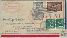 74523 - DOMINICANA - POSTAL HISTORY -   AIRMAIL COVER  to SPAIN 1942 - CENSORED