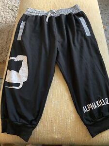 Alpha Killaz 3/4 Training Shorts XL x2