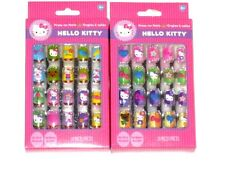 HELLO KITTY Press on Nails for Girls 2 Packages with 20 pieces each