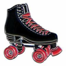 Retro Roller Skate Metal Enamel Lapel Pin Badge XJKB14-23