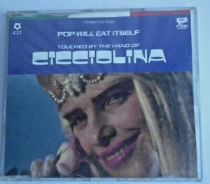 Cicciolina - Pop Will Eat Itself  3 track EP CD  1990 BMG