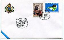 2001-08-31 San Marino Riccione 53°fiera inter. del francobollo ANNULLO SPECIALE