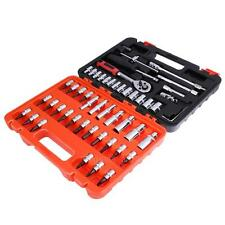 Automotive Tool Box Set Case 53 Piece Car Motorcycle Home Mechanics Repair Kit