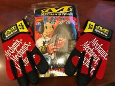 Mechanix Wear (Kids Crew) Red/BLK Gloves The Original Multipurpose Sizes 3&4 New